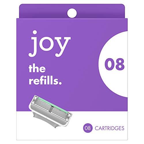 Joy Razor Five Bladed Refills, 8 Count