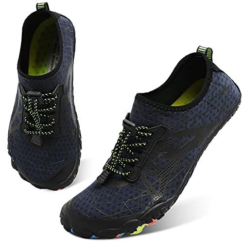 Centipede Demon Water Shoes for Mens Womens Quick Dry Barefoot Beach Swim Diving Aqua Sneakers 11.5 Men
