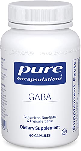 Pure Encapsulations GABA | Supplement to Support Relaxation and Moderation of Occasional Stress* | 60 Capsules