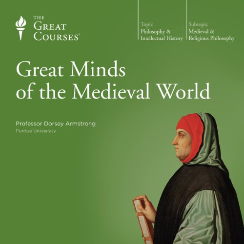 Great Minds of the Medieval World audiobook cover art