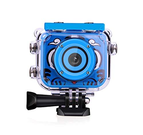 Zwq&zj camera voor kinderen, mini, DV, waterdicht, voor kinderen, 1080P, outdoor-sport, met HD-display, 2,0 inch, roze