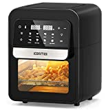 8-in-1 Air Fryer, 6.5 Quart Air Fryer Oven, Hot Airfryer Convection Oven with Digital Touch Screen and Temperature...