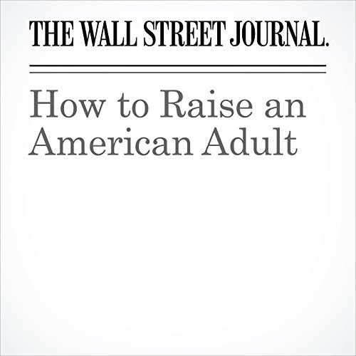 How to Raise an American Adult copertina