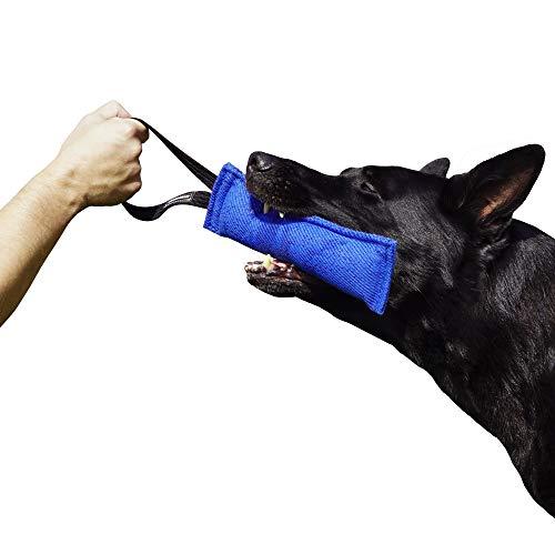 Dingo Gear - Remolque de Nailon para Entrenamiento de Perros K9 IGP IPO Schutzhund para búsqueda ciega de presas para Obtener recompensa, Hecho a Mano de Material francés