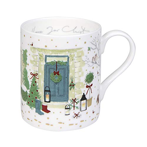 Sophie Allport Holly & Berry, tazza 'Home for Christmas!', Bone China, Standard