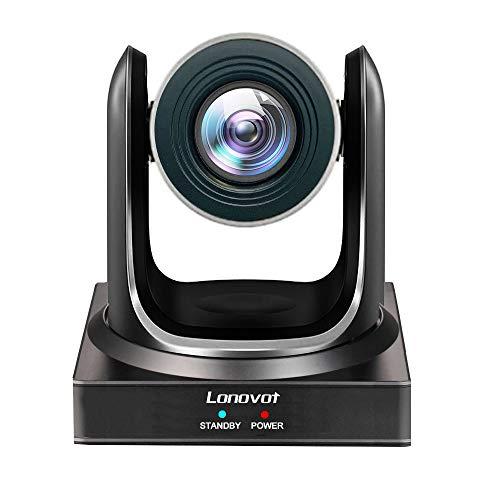 Minrray 20X-NDI Broadcast und Konferenz Full HD PTZ Kamera UV510 für Live-Streaming (NDI | HX 4.0), schwarz