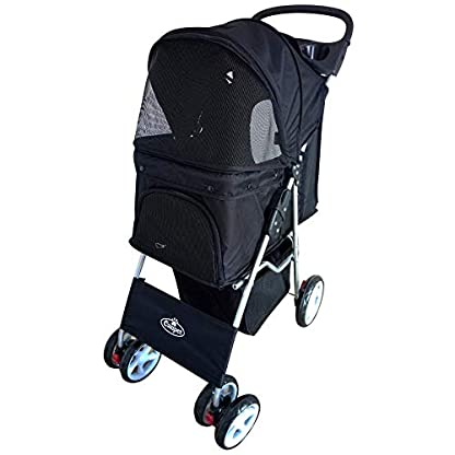 Easipet Pet Stroller Available in 5 (Black) 1