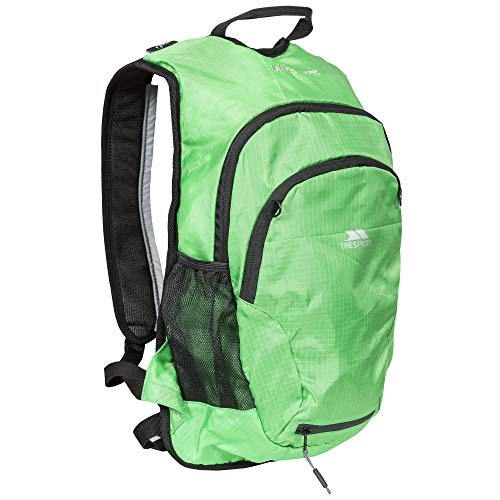 Trespass Ultra 22 Running Cycling Backpack with Hydration Access, 22 Litre, Green, One Size
