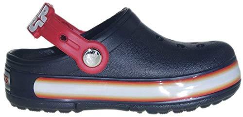CROCS Kinderschuhe - Clogs Crocslights STAR WARS VADER - black flame, Schuhgröße:EU 24-25
