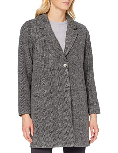 SELECTED FEMME Damen SLFMISSA Coat B Wollmantel, Black, 36