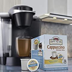 Now you can indulge in this delightful coffee shop treat right at home, anytime Combines pure, sweet vanilla and bold coffee flavors in perfect harmony Convenient for busy mornings or when you need an on-the-go treat Kosher certified Single serve cup...