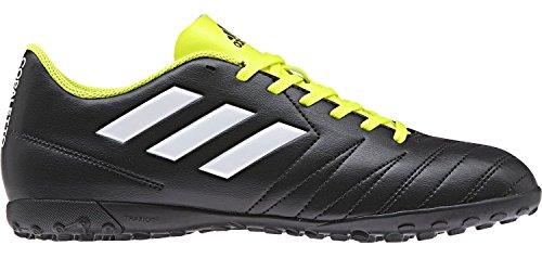adidas Unisex-Kinder Copaletto Tf J Fußballschuhe, Schwarz/Weiß/Gelb 000, 37 EU
