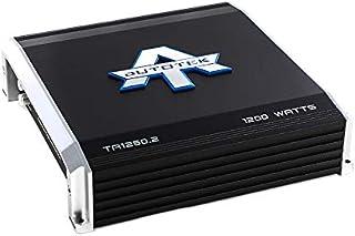 Autotek TA1250.2 TA Series 2 Channel Car Audio Amplifier (Black) – Class A/B Amp, 1200 Watt, Bass Boost, Marine Grade Prot... photo