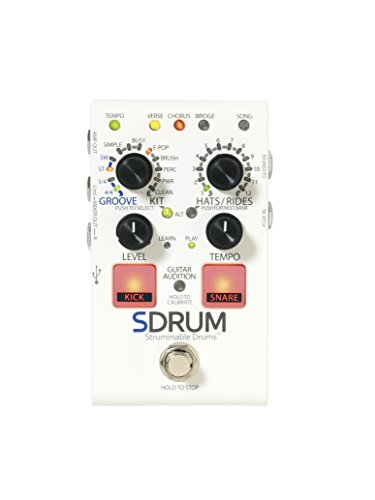 DigiTech SDRUM Guitar Effects Pedal Strummable Drum