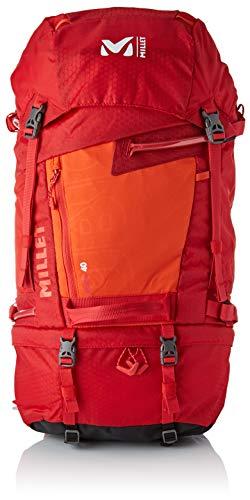 Millet Ubic 40 Mochila, Hombre, Rouge/Orange, 45 cm