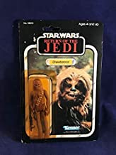 Chewbacca Chewy 1983 Star Wars Return of the Jedi Original Action Figure MOC ROTJ (77 Back)