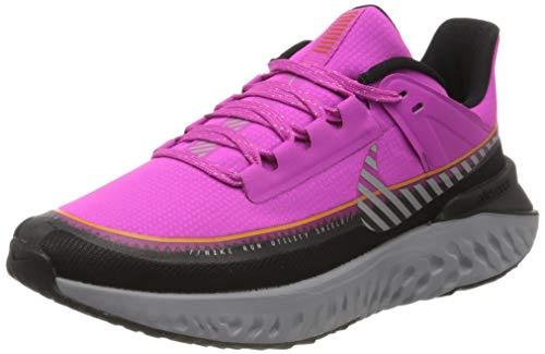 Nike W Legend React 2 Shield, Zapatillas de Running para Mujer, Rosa (Fire Pink/Mtlc Silver/Black/BRT Ceramic/Atmosphere Grey 600), 37.5 EU
