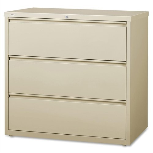 """Lorell LLR88030 3-Drawer Lateral Files, 42"""""""