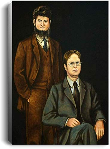 The Office Dwight Schrute & Mose Poster - No Frame (11 x 17)
