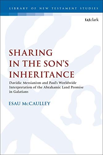 Sharing in the Son's Inheritance: Davidic Messianism and Paul's Worldwide Interpretation of the Abrahamic Land Promise in Galatians (The Library of New Testament Studies)