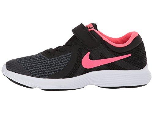 Nike Revolution 4 (PSV), Zapatillas para Niñas, Negro (Blac