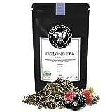 Edward Fields Tea - Té azul Oolong orgánico a granel con frutos rojos del bosque, 100 gramos.