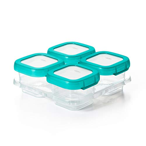 Product Image of the OXO Tot Baby Blocks Freezer Storage Containers (4 Oz)