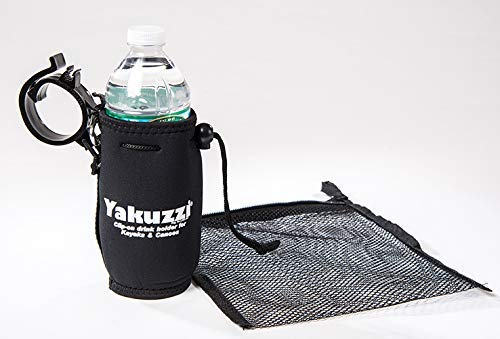 Yakuzzi Kayak Drink/Cup Holder, Accessories for Kayaks and Canoes (Black)