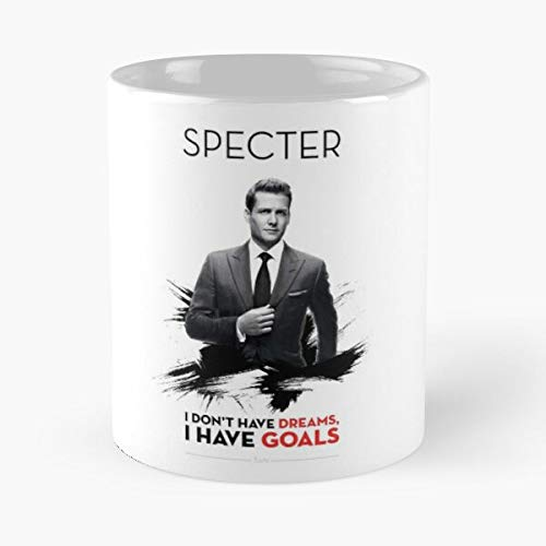 OriginalFavorites Harvey Series Specter Suits TV Serie Movie Film Taza de café con Leche 11 oz