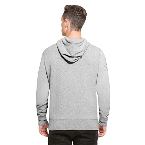 '47 MLB Boston Red Sox Knockaround HEADLINE Pullover Hood – Brushed Fleece Hoodie Polycotton Blend - Distressed Print Officially Licensed Premium Quality Design and Craft by Family Sportswear Brand
