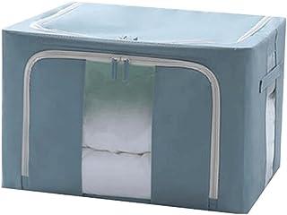 Lpiotyucwh Paniers et Boîtes De Rangement, Bacs de rangement pliables 1 boîtes de rangement de paquets avec couvercles et ...