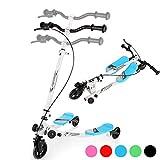 Hopekings Kinderroller Scooter Roller mit 3 Räder, Klappbarer,...