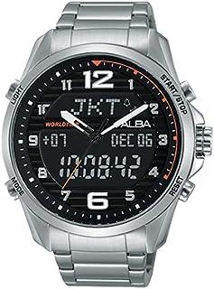 ساعة للرجال من ألبا - رقمية. Analog, Stainless Steel.498138661860