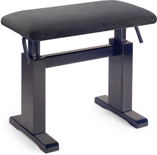 Find Discount Stagg PBH 780 RWM VBK Hydraulic Piano Bench,Black Velvet Top/Rosewood Matte