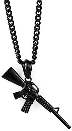 Yiffshunl Collar Collar de policía de Acero Inoxidable Acce