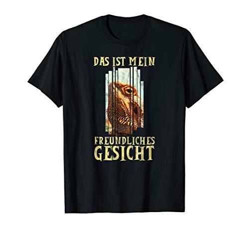 Bartagame | Reptilien Echsen T-Shirt