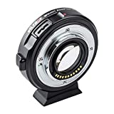 VILTROX EF-M2II Focal Reducer Booster Adapter Auto-Focus 0.71x for Canon EF Mount Series