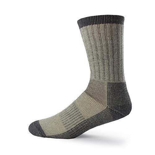 Minus33 Merino Wool Day Hiker Sock, Gray, Large