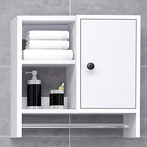 Bathroom Organizer Storage Wall Cabinet, Over The Toilet Storage Medicine Cabinets for Bathroom or Living Room