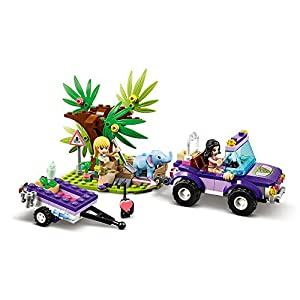 Amazon.co.jp - レゴ フレンズ 赤ちゃんゾウのジャングルレスキュー 41421