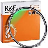 K&F Concept MC UVフィルター 67mm 保護フィルター 99% 透過率 紫外線カット 光学ガラス 多層コーティング 薄枠 レンズフィルター(67mm Lens Filter)