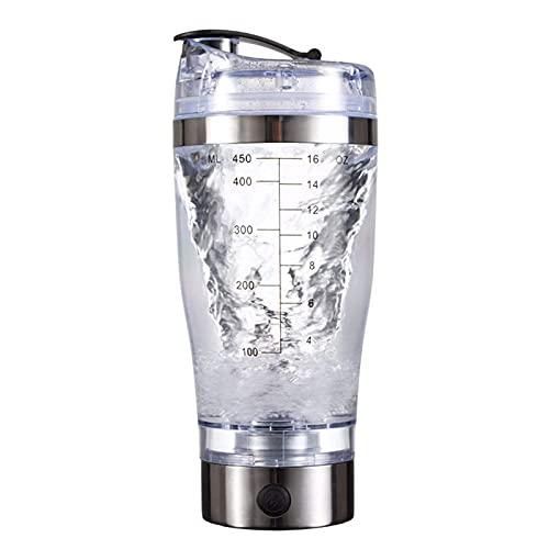 YQG Frullatore di proteine Flacone Frullatore Elettrico Bottiglia Shaker per proteine Miscelatore a vortice Automatico Portatile | Bottiglie Shaker