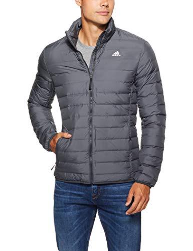 adidas Herren Varilite Soft Jacke, Carbon, L