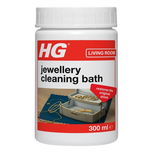 HG Jewellery Cleaning Bath, For Gold & Silver Fine Dress Jewellery, Gentle...