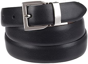 Chaps Women s Plus Size Reversible Belt with Stretch Technology casual black brown 1X product image