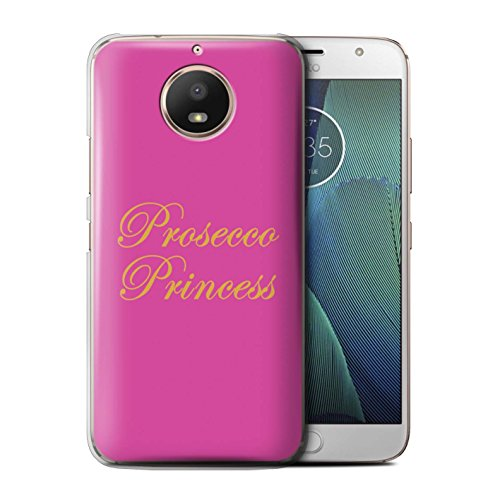 Stuff4®®®®®®®®®®®®®®®®®®®®®®®®®®®®®® Phone Case/Cover/Skin/Moto-CC/Prosecco Fashion Collection Motorola Moto E4 2017 Prosecco Princess