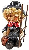 Schornsteinfeger 13 x 7 cm Glücksbringer mit Leiter Glück Figur Kaminkehrer Deko GCG 350 B