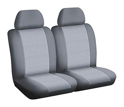DBS 1011741 autostoelhoezen/bedrijfsvoertuig stoelhoezen - op maat - snelle montage - compatibel met airbag - Isofix