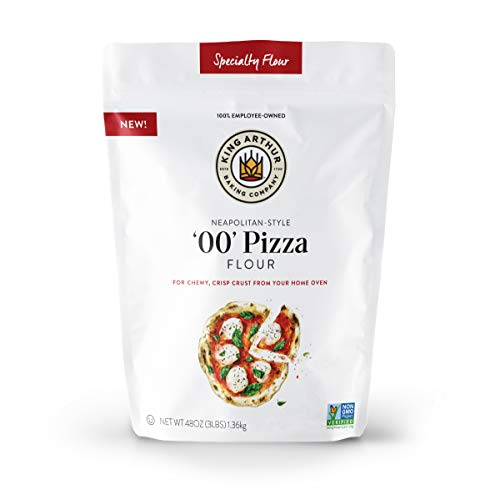 King Arthur Flour, '00' Pizza Flour, Specialty Flour, Blend of 100% American-Grown Wheat, Non-GMO Project Verified, 3 Pounds