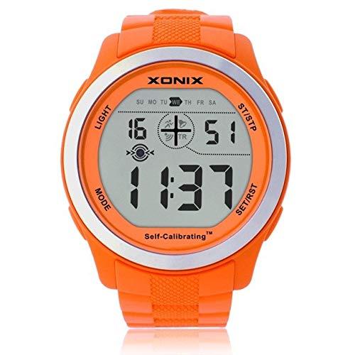 Xonix GVT 007 - Orologio da uomo con funzione di rete, multifunzione, semiintelligente, con movimento elettronico a LED, impermeabile